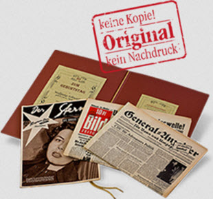 » Echte Zeitungen vom Tag der Geburt zum 70. Geburtstag