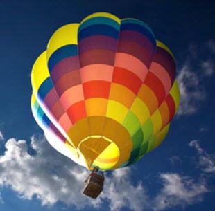 Ballon Fahrt bei Jochen Schweizer