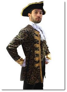 Pirat Edelmann Kostüm für Männer