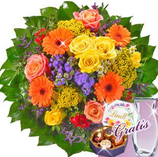 Muttertag Blumenstrauß zum verschicken als Muttertagsgeschenk