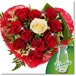 Rosen Valentinstaggeschenk für Frauen
